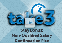 Stay Bonus: Non-Qualified Salary Continuation Plan